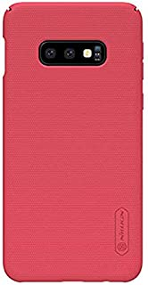 Nillkin Samsung Galaxy S10e Mobile Cover Super Frosted Hard Shield Phone Case - Red