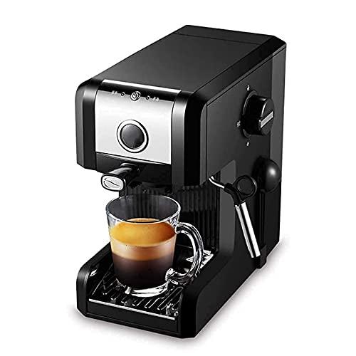 WSJTT Automatyczna ekspres do kawy Espresso,ekspres do kawy i szlifierki 20 bar,dysza parowa,wymienna taca kroplówki do przygotowywania gorących napojów
