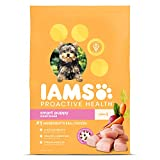 Iams Dry Dog Food Chicken Proactive Health Smart Food for Puppy, Small & Toy, 7.0 lb