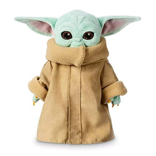 The Child Yoda Plush, Baby Yoda Plush Toys,Baby Plush Figures, Baby Stuffed Animal, 11 Inch Baby Yoda Stuffed Animal Baby Yoda Doll from Mandalorian Plush Baby Yoda