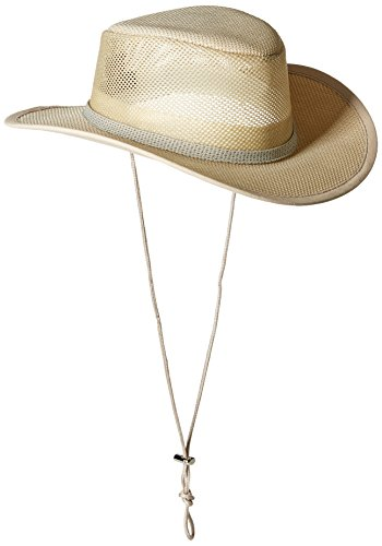 Stetson Men's Mesh Covered Hat, Natural, Large