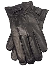 Best Gloves For Driving In Winter - Reed Men's Genuine Leather Driving Gloves