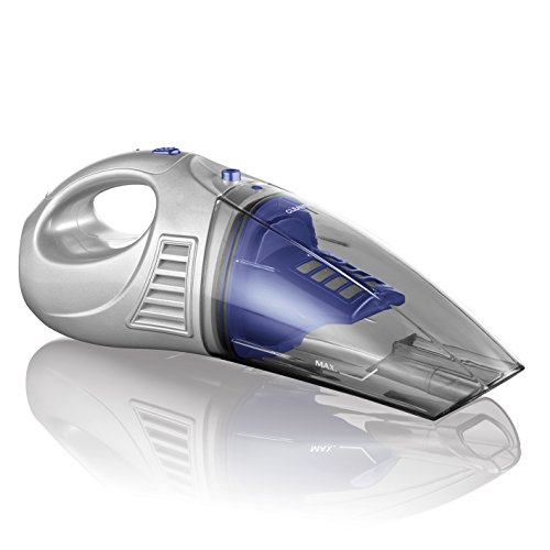 CLEANmaxx Akku-Handstaubsauger 2in1 4,8V blau/silber