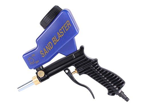 WELDINGER Druckluft-Sandstrahlpistole mit Tank