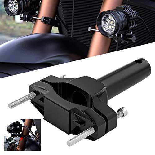 1 x universal motorcycle bumper mount, motorcycle headlight brackets, portable fixed mount extension bracket.