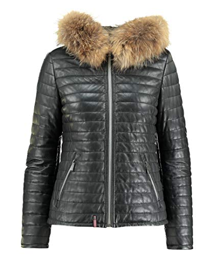 Oakwood Damen Lederjacke Happy schwarz (15) XS