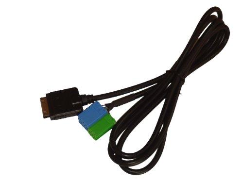 vhbw AUX Adapterkabel passend für Autoradios von Becker Pro 7933, Mexico Pro CD 4627, Mexico CC 4327 etc.