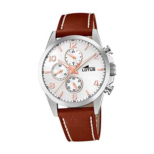 Lotus Reloj Cronógrafo para Hombre de Cuarzo con...
