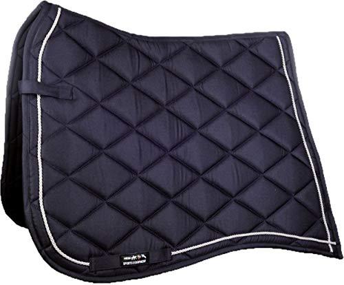 HKM 4057052276415 - Gualdrappa Antica -6971, Colore: Blu Scuro/Argento Dressage