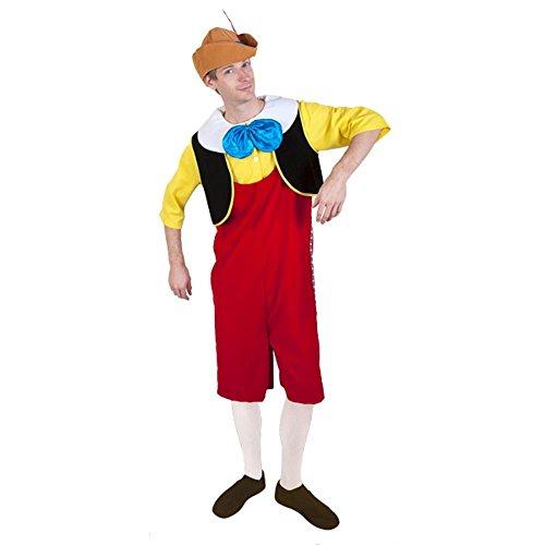 Adult Pinocchio Costume, Size Standard