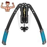 AUPERTO 10-200 kg Spring Power Twister - Biegehantel Power Twister Verstellbarer für Arm Training Power Twister Fitness Training Spannfeder