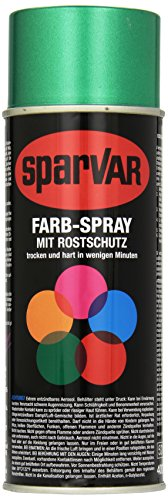 SparVar 6033051 Lackspray Metal-Flake Sebring Benzinfest, 400 ml, grün
