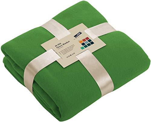 Fleece Decke - Farbe: Lime Green