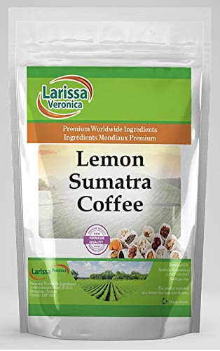 Lemon Sumatra Luxury Coffee Gourmet Naturally Flavored Whole Limited time for free shipping