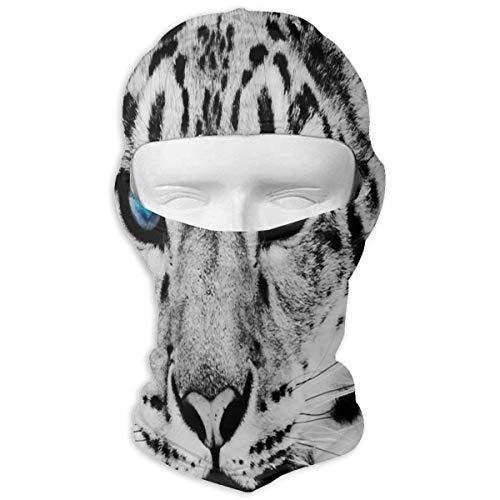 Ejdkdo Balaclava Imprimé Léopard Masques faciaux Ski Sports Cap Moto Capuche pour Vélo Sport Randonnée Mode18