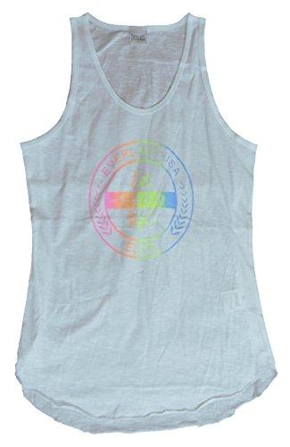 Everlast Frauen-Tank Top Slub Jersey 22W644G67 coll weiß gefärbt (weiß),M