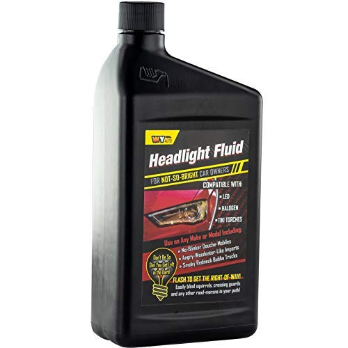 Headlight Fluid Gag Gift