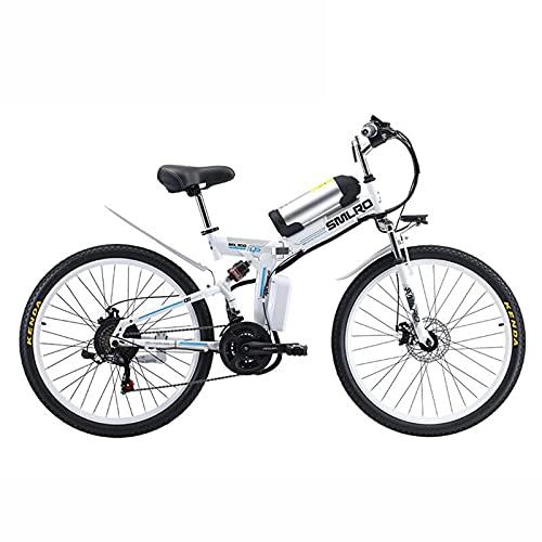 """ZOSUO Outdoor-Mountainbiking Elektrofahrrad Faltbares Fahrrad Für Damen Und Herren 26\"""" 500W Elektrisches Fahrrad Mit Herausnehmbarer 36V 8Ah Lithium-Batterie Shimano 21-Speed Transmission"""