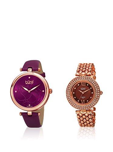 Burgi Women'S Watch Gift Set di 2 Orologi da Donna