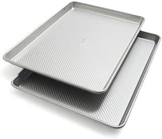 Sur La Table Platinum Professional Half Sheet Pans 21320ST, 17.2534; x 12.2534, Set of 2