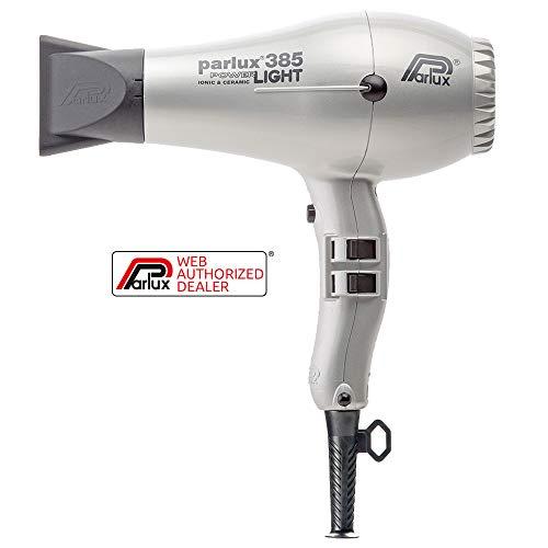 Secador de Cabelo Parlux 385 Power Light 220V - Prata