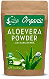 Organic Aloe Vera Powder for Hair & Face | Aloe Barbadensis | AloeVera Extract USDA Certified by Proud Planet… (1 Pound (16 Ounce))