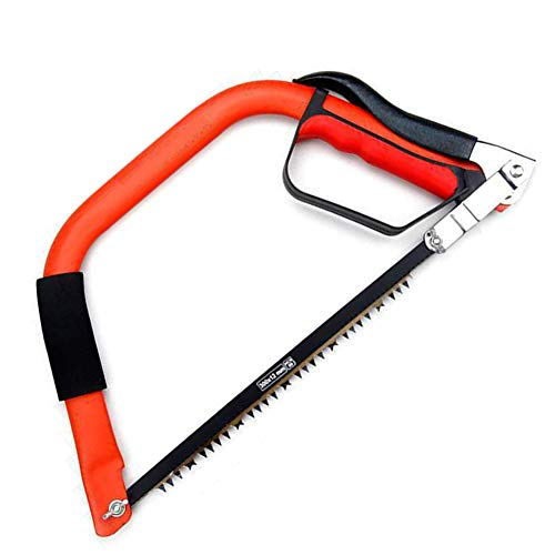 JKGHK Bow Saw Equipped with Multi Purpose Handsawswith Ergonomic,Handle PVC Hand Saw Hose Cutter,Dual purpose 300mm