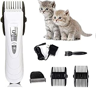 Shears Hair Cutting Tool Dog Clippers, Cordless Pet Clippers Low Noise Dog Hair Clippers Rechargeable Dog Grooming Clipper...