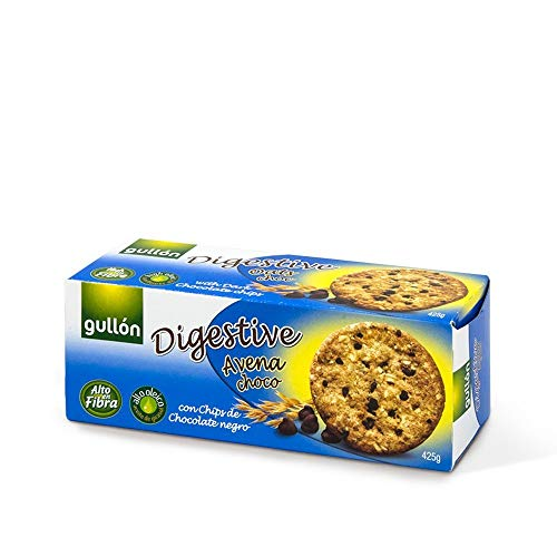 Gullón Galleta Avena Chocolate Digestive, 425g