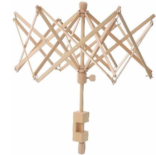 Yarn Swift Birch Wooden Umbrella (Medium) Winder Ball Winder 6 Feet