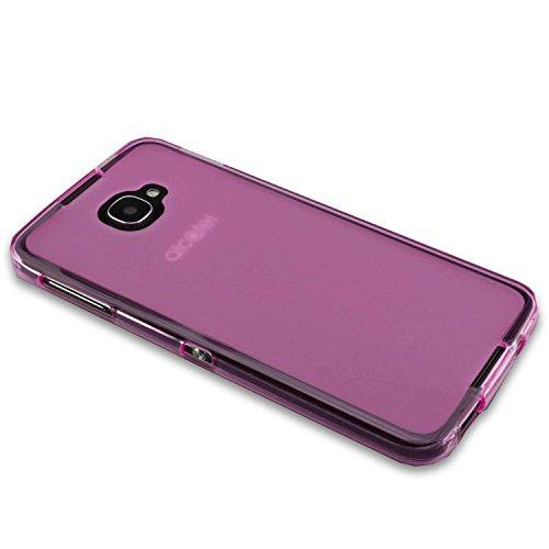 caseroxx TPU-Hülle für BlackBerry DTEK60, Handy Hülle Tasche (TPU-Hülle in pink)