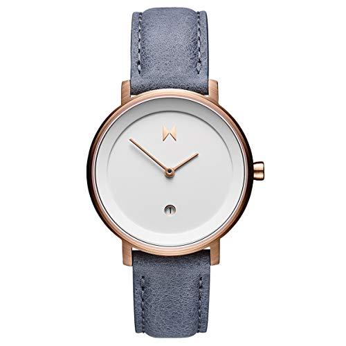 MVMT Signature II Watches | 34MM Women's Analog Watch | Earl Grey