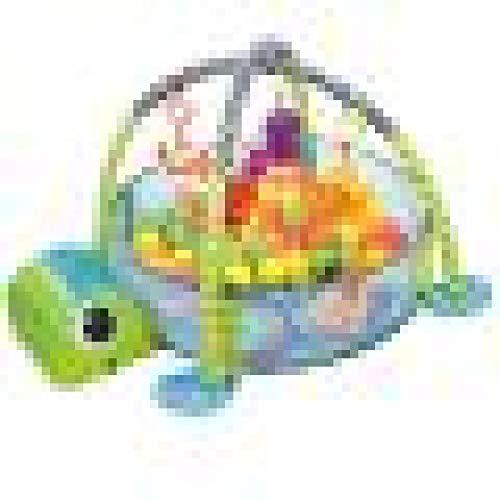LANGYA Tiny Love Super Mat, Gran Juego de Actividad Mat Adecuado Desde el Nacimiento, Musical Baby Play Mat y Newborn Activity Gym,0 Mes +, Tortoise