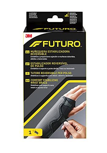 Futuro 10770EN Handgelenksbandage-Schwarz und Grau