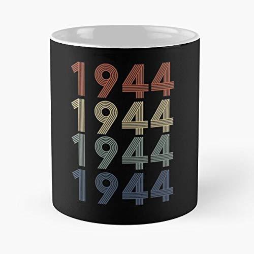 N\A Taza clásica con Regalo de cumpleaños de 1944, 11 oz.