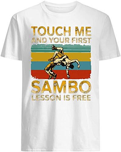 SamboLessonisFree,TouchMeandYourFirstVintagetee-ShirtT-Shirt