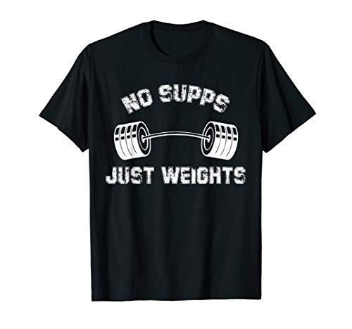 Gym Fitness Muscle Weights T-Shirt