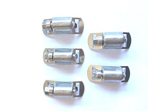 Schlauchschelle Endlos Bandschllösser für Bandbreite 12,7mm aus Edelstahl V2A 304