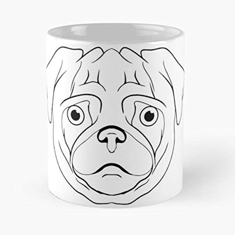 Pug Dog Love Cute - Best Gift Coffee Mugs 11 Oz Father Day