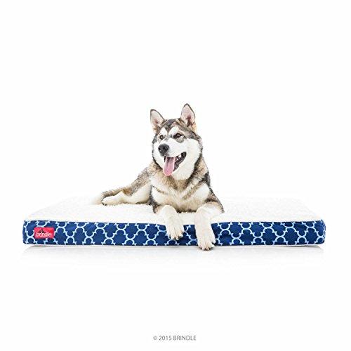 Brindle waterproof dog bed review