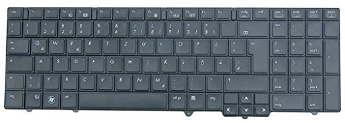 NExpert Orig. deutsche QWERTZ Tastatur für HP Probook 6540B 6545B 6550B 6555B Series Schwarz DE Neu