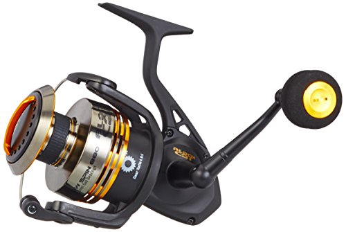 Black Cat Angelrolle Shadow Spin FD 880 - Carrete de Pesca de lanzado