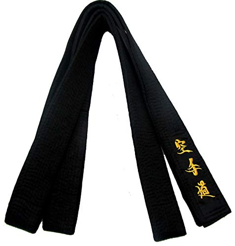 Cinturon Negro Karate  marca Shihan