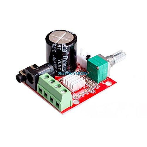 !Venta caliente 12V Mini Hi-Fi PAM8610 Placa de amplificador estéreo de audio 2X10W Dual Channel D Class Precio más bajo