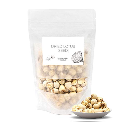 NESTLADY Dried Lotus Seeds 莲子 All Natural Nutritious 150g