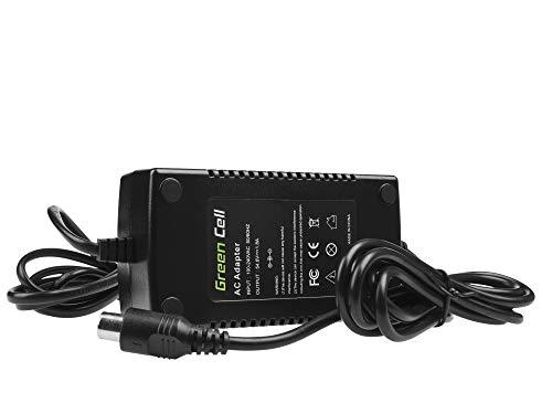 Green Cell® Cargador (54.6V 1.8A 98W) para Kettler Kreidler Kross Liberty Lovelec Merida Navigator Prodigy E-Bike Bicicleta Eléctrica Li-Ion Batería (Conector RCA)
