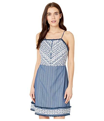 Miss Me Beaded Sleeveless Dress Navy XL