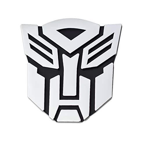Transformer Autobot Auto Emblem - [Chrome][3'' Tall]