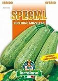 Sementi di ortaggi ibride e selezioni speciali ad uso amatoriale in buste termosaldate (80 varietà) (ZUCCHINO GRIZZLY F1)
