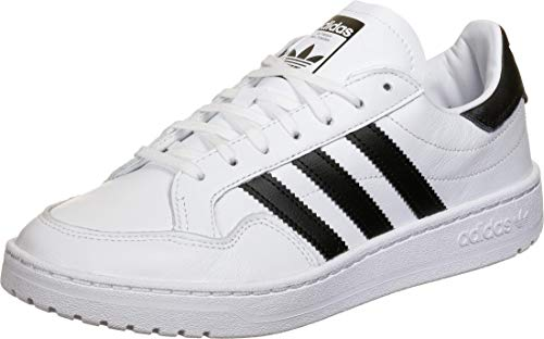 adidas Team Court, Zapatillas Hombre, Cloud White Core Black Cloud White, 44 2/3 EU